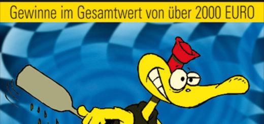 Plakat des Entenrennens 2010